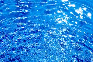 プールの波紋の写真素材 [FYI04097734]