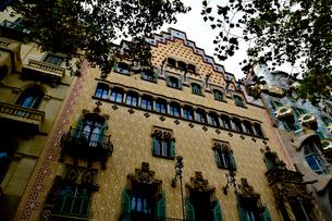 スペイン バルセロナのカサ・アマトリェールの写真素材 [FYI04097862]