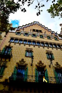 スペイン バルセロナのカサ・アマトリェールの写真素材 [FYI04097863]