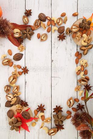 木の実の壁紙の写真素材 [FYI04099032]