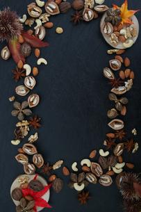 木の実の壁紙の写真素材 [FYI04099038]