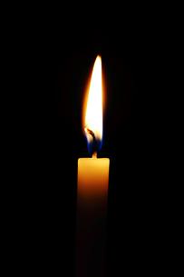 ロウソクの炎の写真素材 [FYI04099187]