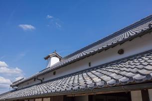 日本の風景、屋根瓦の写真素材 [FYI04099221]