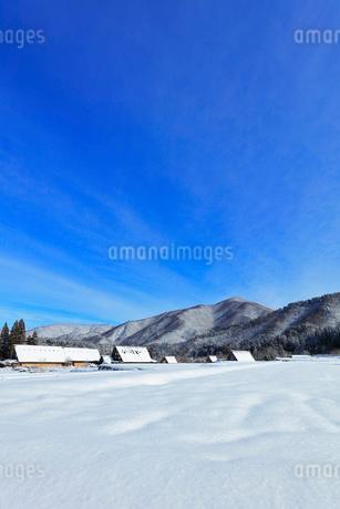 世界文化遺産 冬の白川郷の写真素材 [FYI04099353]