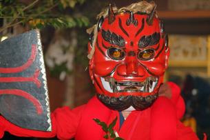 1月 奥三河の花祭りの写真素材 [FYI04099486]