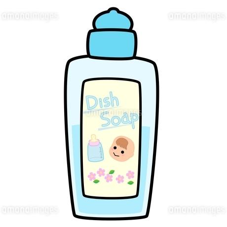 赤ちゃん用食器用洗剤のイラスト素材 [FYI04099724]