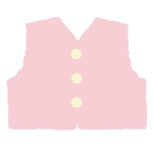 ベビー服 ベストのイラスト素材 [FYI04099816]