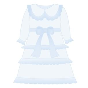 ベビー服 ドレスのイラスト素材 [FYI04099817]