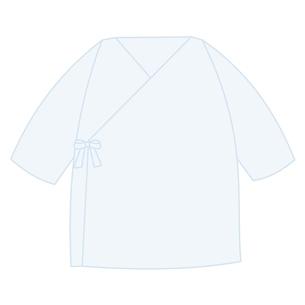 ベビー服 短肌着のイラスト素材 [FYI04099818]