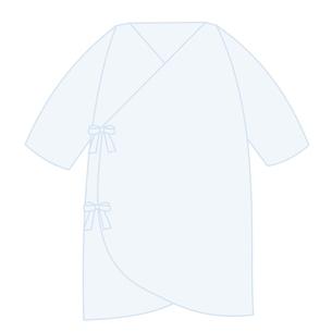 ベビー服 コンビ肌着のイラスト素材 [FYI04099820]