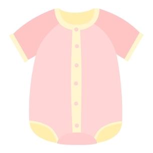 ベビー服 コンビ肌着のイラスト素材 [FYI04099821]