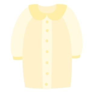 ベビー服 ツーウェイオールのイラスト素材 [FYI04099822]