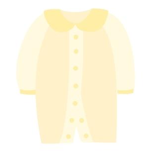 ベビー服 ツーウェイオールのイラスト素材 [FYI04099823]