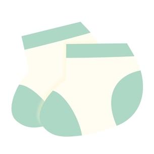 ベビー服 靴下のイラスト素材 [FYI04099825]