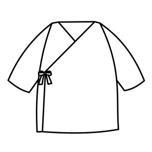 ベビー服 短肌着のイラスト素材 [FYI04099834]