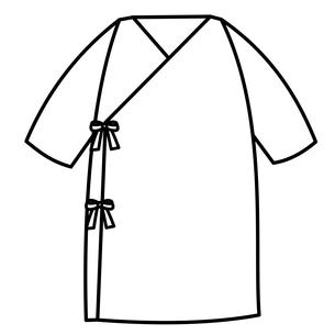 ベビー服 長肌着のイラスト素材 [FYI04099835]