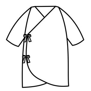 ベビー服 コンビ肌着のイラスト素材 [FYI04099836]