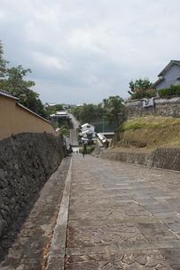 小京都 杵築の町並み(大分県)の写真素材 [FYI04100108]