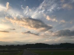 空と雲の写真素材 [FYI04100219]