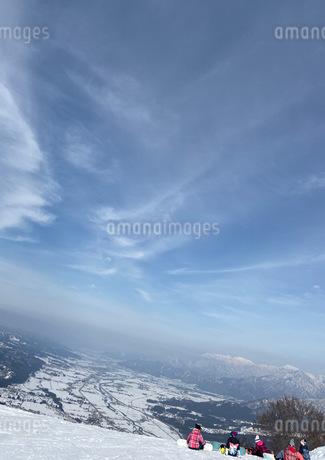 ゲレンデ スノボの写真素材 [FYI04100391]