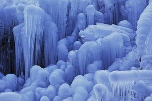 あしがくぼの氷柱の写真素材 [FYI04100574]