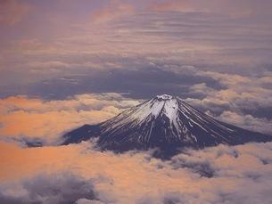 富士赤やけの写真素材 [FYI04100607]