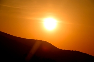 蒜山高原,朝日が昇るの写真素材 [FYI04101001]