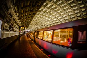 ワシントンDCの地下鉄の写真素材 [FYI04101169]
