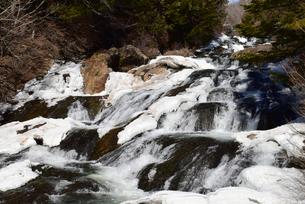 竜頭の滝 冬の写真素材 [FYI04101200]