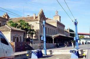 スペイン トレド駅の駅舎の写真素材 [FYI04102154]