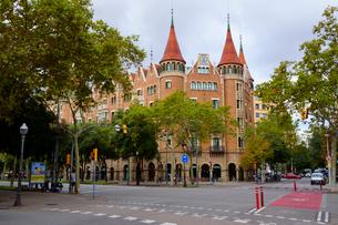 スペイン バルセロナのカサ・デ・ラス・プンシャスの写真素材 [FYI04102206]