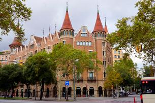 スペイン バルセロナのカサ・デ・ラス・プンシャスの写真素材 [FYI04102207]