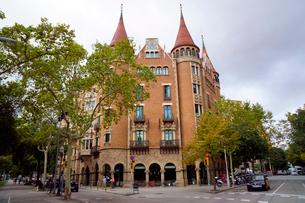 スペイン バルセロナのカサ・デ・ラス・プンシャスの写真素材 [FYI04102209]