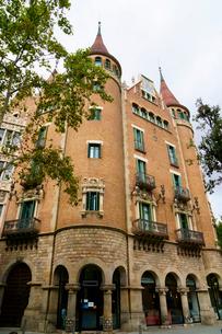 スペイン バルセロナのカサ・デ・ラス・プンシャスの写真素材 [FYI04102212]