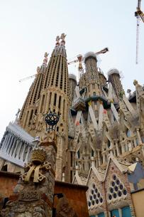 スペイン バルセロナのサグラダファミリアの写真素材 [FYI04102227]