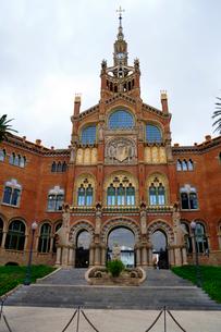 スペイン バルセロナのサンパウ病院の写真素材 [FYI04102236]