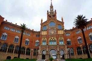 スペイン バルセロナのサンパウ病院の写真素材 [FYI04102237]