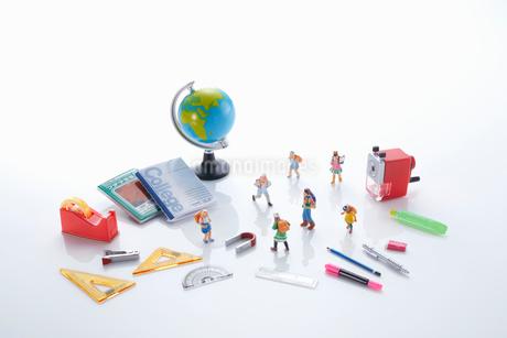 子供の学習イメージの写真素材 [FYI04102682]
