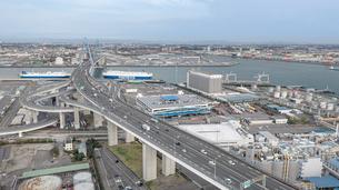 高速道路 インターチェンジ の写真素材 [FYI04102892]