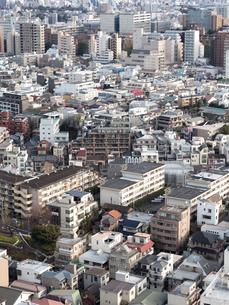 都心の住宅街の写真素材 [FYI04103016]