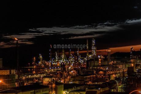 室蘭工場夜景の写真素材 [FYI04103329]