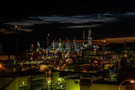 室蘭工場夜景の写真素材 [FYI04103330]