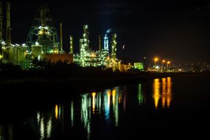室蘭工場夜景の写真素材 [FYI04103334]