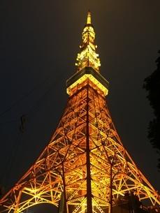 東京タワーの写真素材 [FYI04103677]