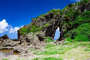 自然に形成された奇岩のミーフガーの写真素材 [FYI04104316]