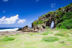 自然に形成された奇岩のミーフガーの写真素材 [FYI04104323]