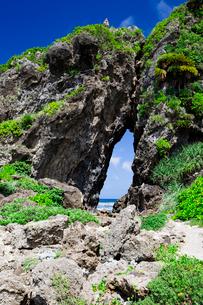 自然に形成された奇岩のミーフガーの写真素材 [FYI04104333]