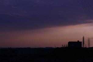 暗い空の写真素材 [FYI04104334]
