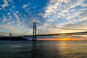 明石海峡大橋の写真素材 [FYI04104656]