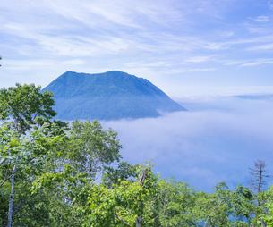北海道 自然 風景 摩周湖 (裏摩周)の写真素材 [FYI04105032]